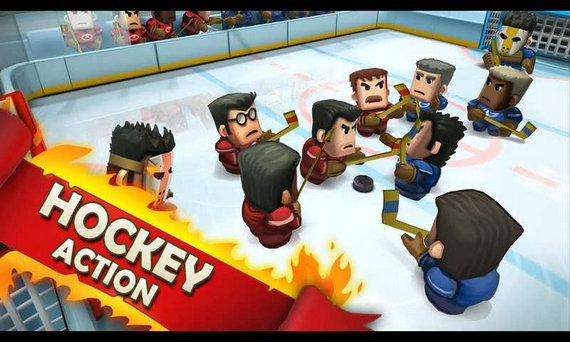 冰球对战免解锁付费版下载