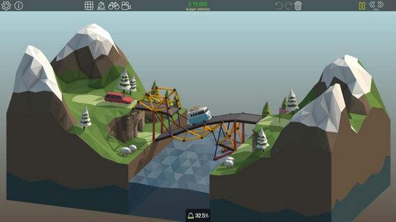 桥梁构造师poly bridge