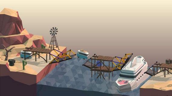 桥梁构造师poly bridge解锁全部关卡版