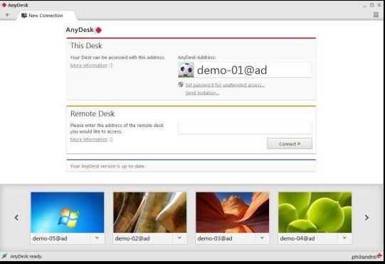 anydesk远程桌面控制软件