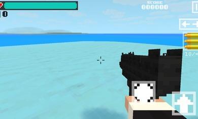 3D方块射击幽灵行动破解版下载