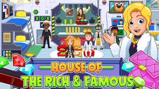 我的城市豪宅游戏下载