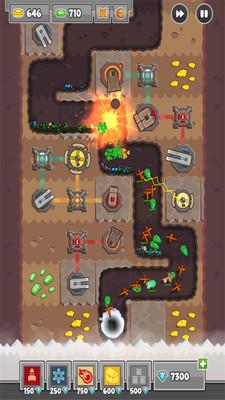 挖掘塔防游戏下载