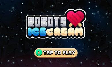 机器人爱冰淇淋