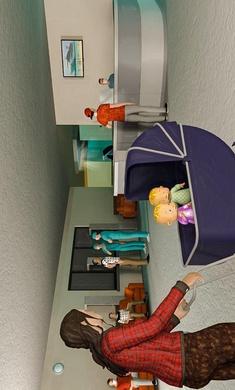 母模拟器3D虚拟婴儿模拟器游戏下载