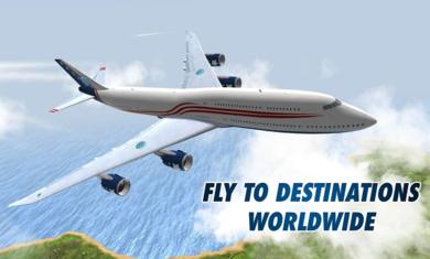 起飞飞行模拟器无限金币版