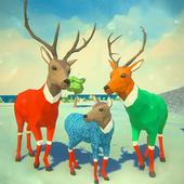 圣诞鹿模拟器游戏