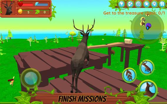 鹿模拟器无限金币版
