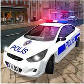 真实警车驾驶模拟器游戏