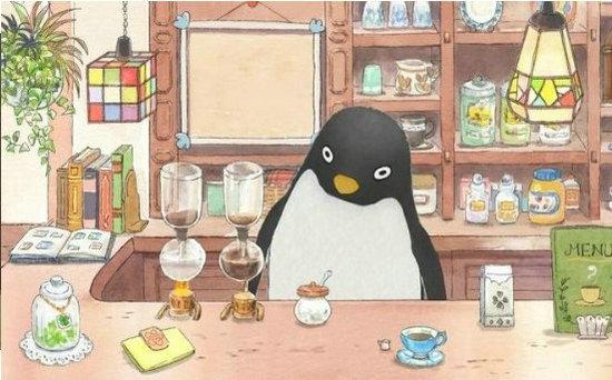 一起玩吧正能量企鹅