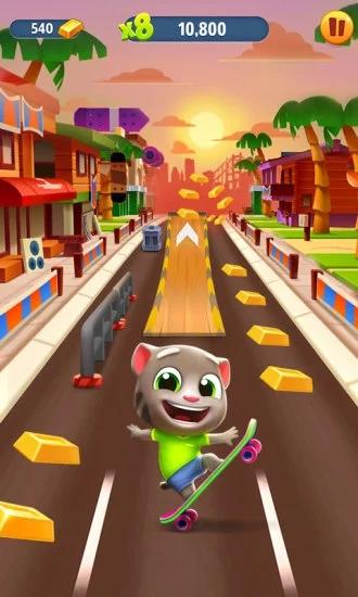 汤姆猫酷跑游戏下载破解版