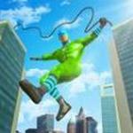 飞行绳索英雄无限金币版