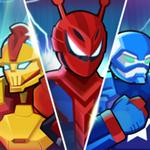 超级机器人英雄格斗游戏