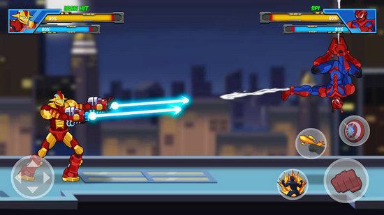 超级机器人英雄格斗安卓破解版