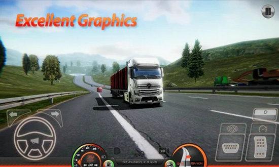 欧洲卡车模拟器2手机版中文版下载