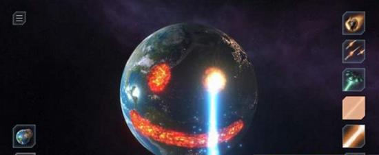 模拟星球爆炸