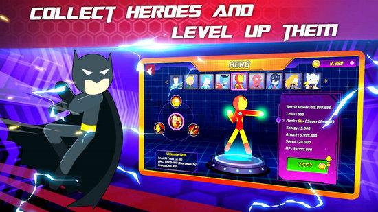 超级火柴人英雄战斗无限钻石版