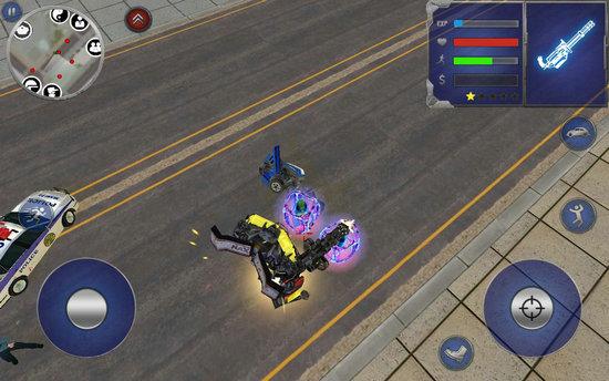 皮卡车机器人英雄破解版