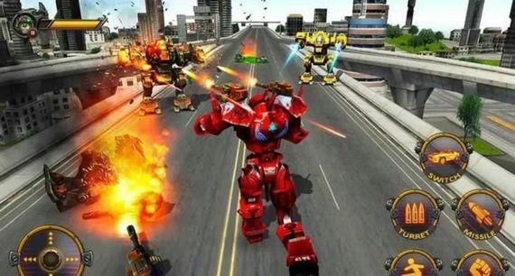 变形机器人英雄破解版下载