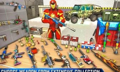 反恐机器人射击无限金币版