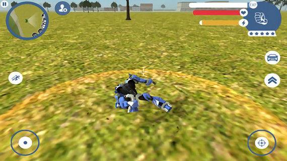 超级跑车机器人破解版