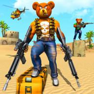 泰迪熊枪战无限金币钻石版