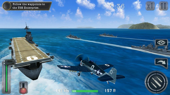 空战飞行员二战太平洋无限金条版