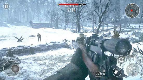 冬季狙击手无限金币版