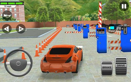 城市汽车模拟器