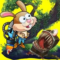 奔跑的兔子无限金币版