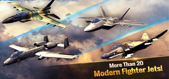 王牌战斗机现代空战无限金币版