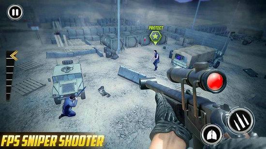 狙击手3D刺客狂怒无限子弹版