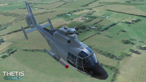 直升机模拟器中文破解版