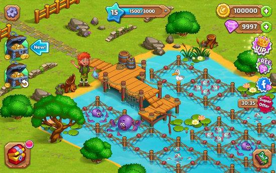 北龙岛建造维京农场破解版