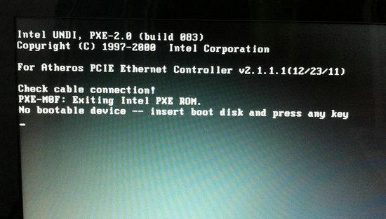 电脑开机出现no bootable device is detected详细解决办法