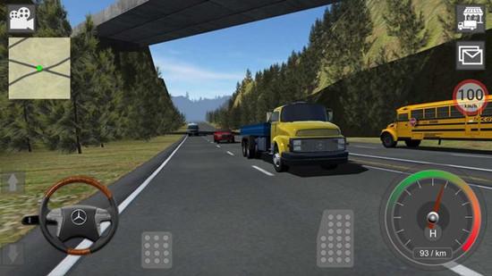 梅赛德斯卡车模拟器游戏破解版