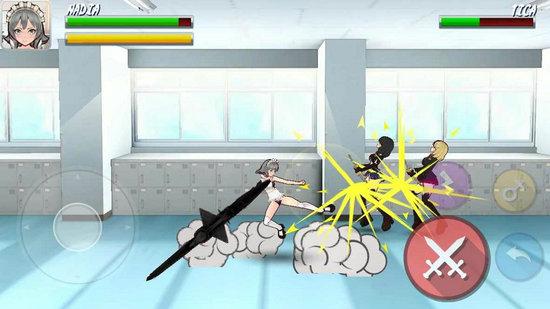 高中忍者女孩游戏下载