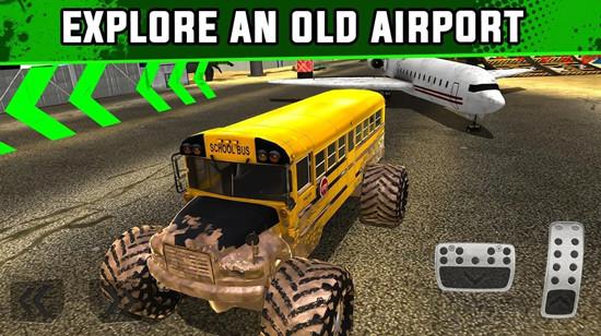 怪物卡车XT机场德比无限金币版