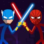 棒面具超级英雄游戏