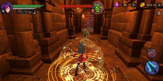 校园女生地牢RPG无限金币版