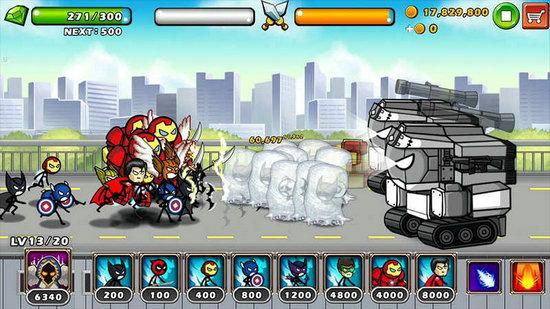英雄战争超级火柴人防御
