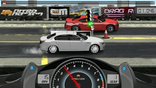 短程高速赛车破解版