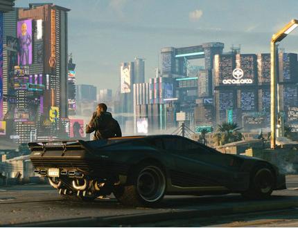 赛博朋克2077 第三人称未来世界科技战斗手游