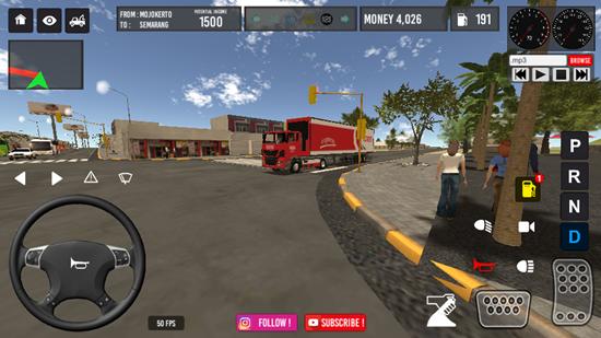 IDBS卡车拖车无限金币版