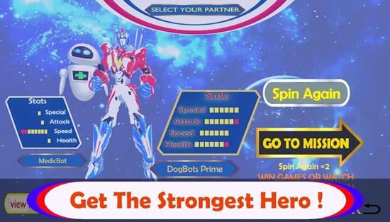 银河超级英雄无限金币版