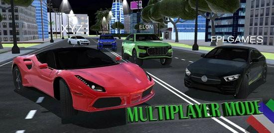 多人汽车驾驶模拟2020无限金币版