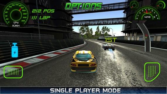 涡轮赛车游戏无限金币版