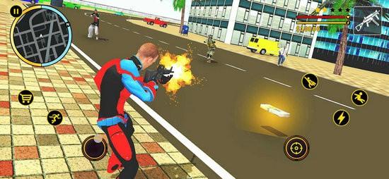 飞天蜘蛛超级英雄游戏下载