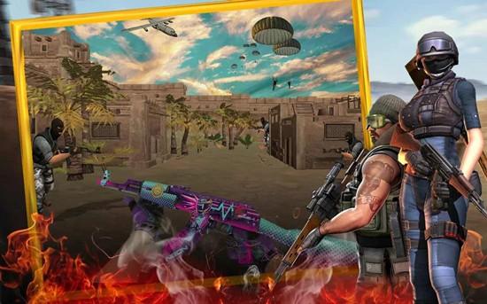 穿越火力关键战场游戏破解版
