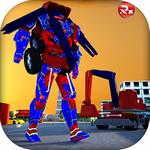 挖掘机变形机器人游戏最新版